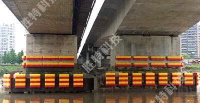 固定式复合材料桥梁防撞设施